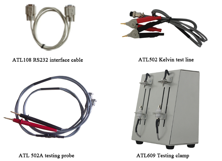 battery impedance test equipment clamp