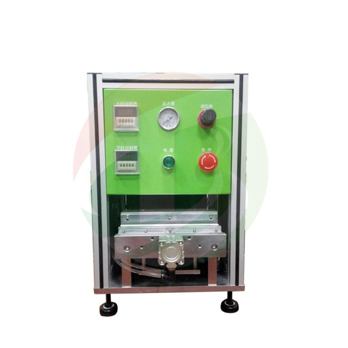 Pneumatic Battery Edge Folding Machine