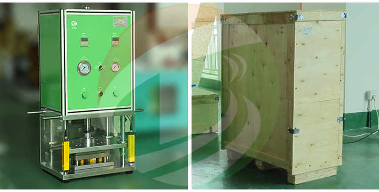 Lab Polymer Battery Pouch Forming Machine Package
