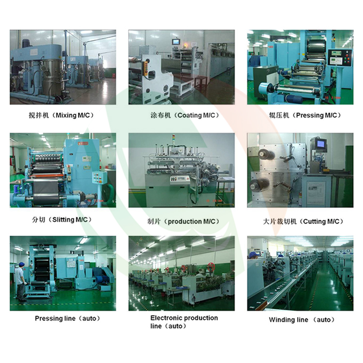 Automatic Cylindrical Cell Production Line