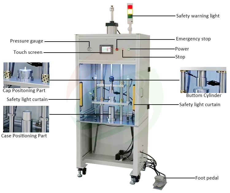 Cylindrical Supercapacitor Cell feeding machine