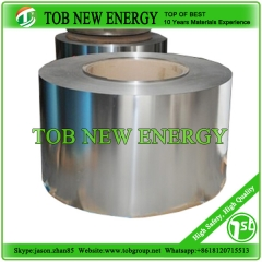 Battery Grade stainless steel foil