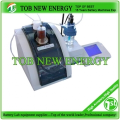 Automatic Potentiometric Titration For Concentration Measuring