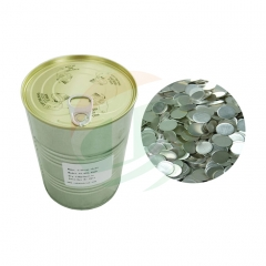 Lithium chips for button cell